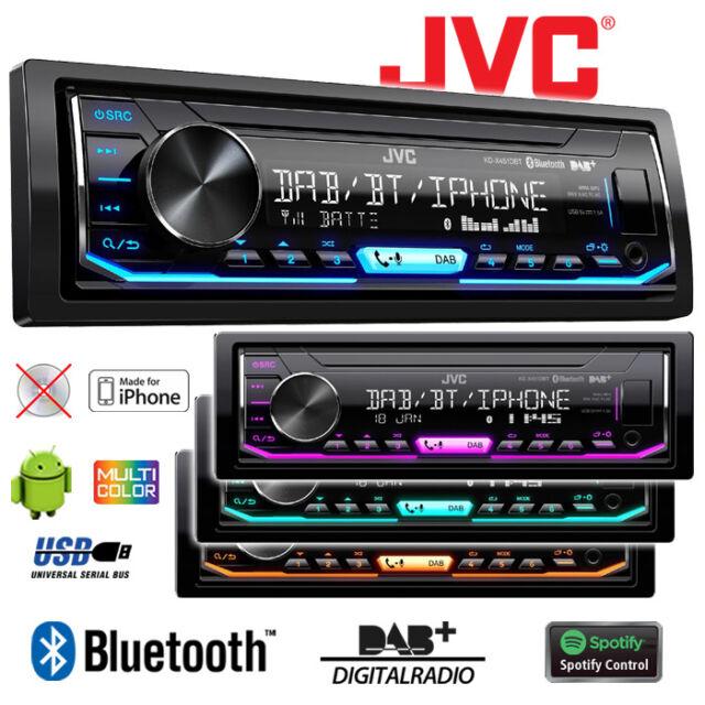 JVC KD-X451DBT | DAB+ | Bluetooth | USB | Android | iPhone | Spotify | Autoradio