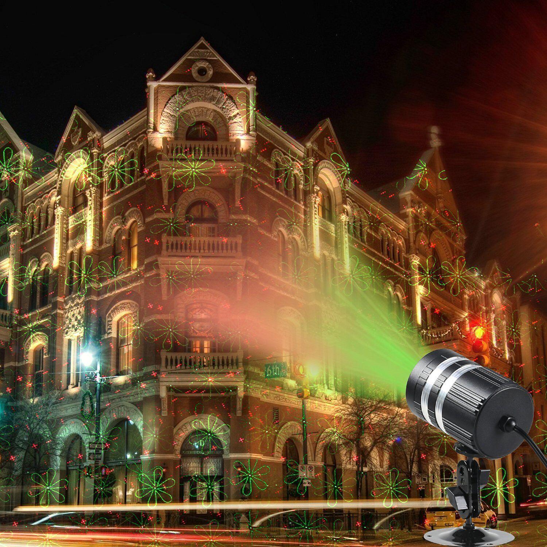 20 muster weihnachten licht projektor rg laser licht show parteien bar dj garten ebay. Black Bedroom Furniture Sets. Home Design Ideas