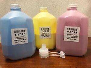 C-M-Y-Toner-Refill-for-Toshiba-2330c-2830c-3530c-4520c-TFC28-1-000g-x-3