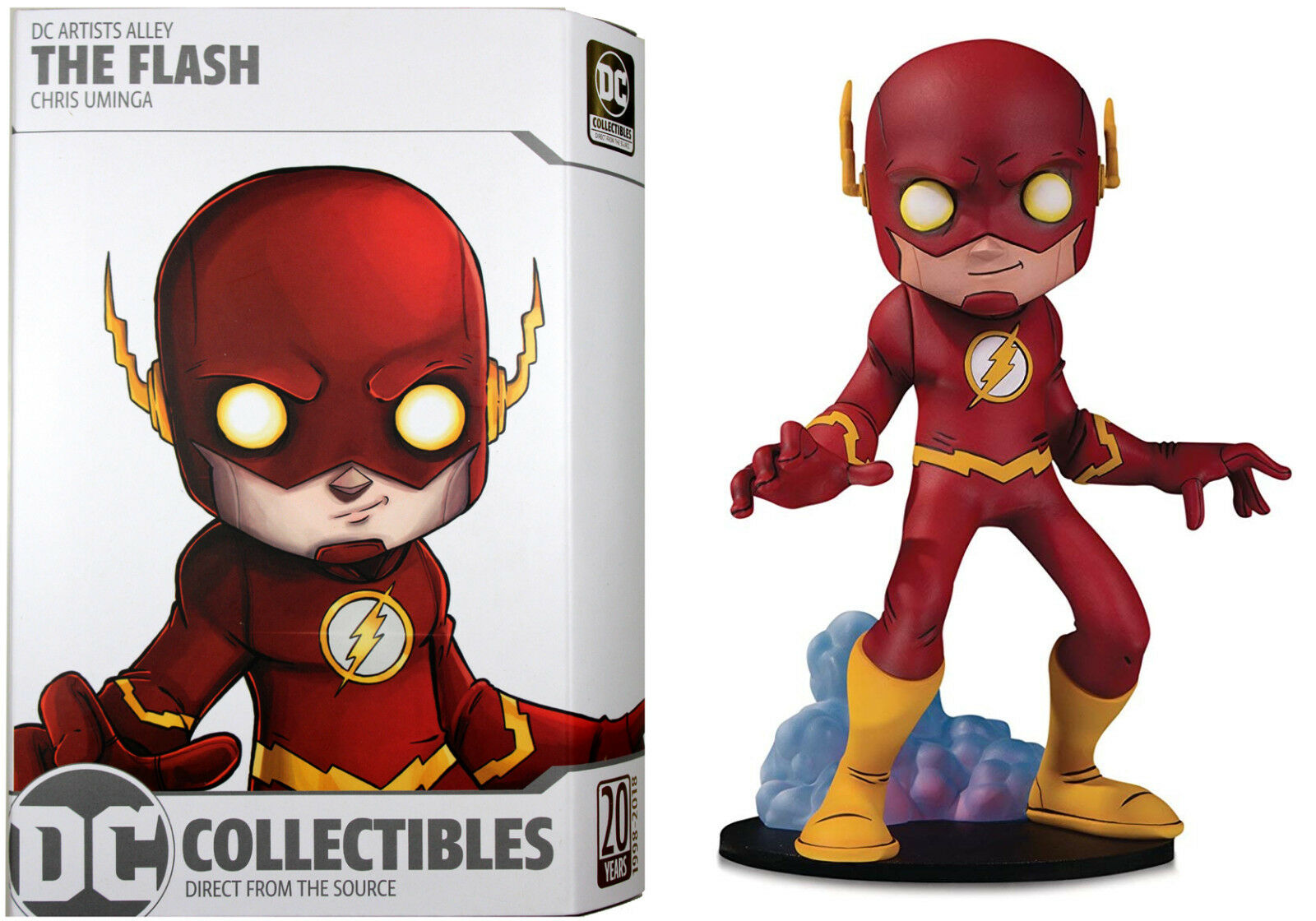 DC Comics Artist Alley  THE FLASH STATUE by CHRIS UMINGA  DC Collectibles