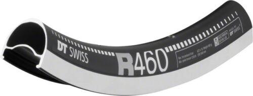New DT Swiss R 460 700c Tubeless-Ready Road Rim 28h Black