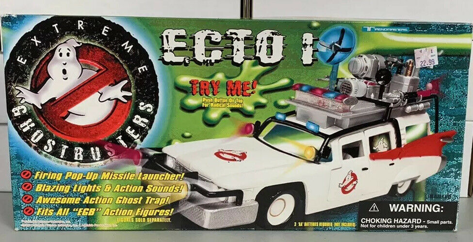 Extreme Ghostbusters Ecto 1 New In Sealed Box 1997 Trendmasters