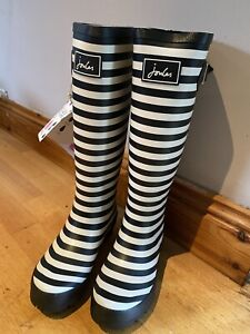 Joules-Stripe-Wellies-Size-4-2226