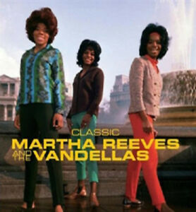 Martha-Reeves-and-The-Vandellas-Classic-CD-2009-NEW-Quality-guaranteed