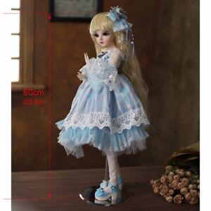 BJD-Doll-1-3-60cm-Princess-Girls-Dolls-Face-Makeup-Wig-Clothes-Shoes-BJD-Puppen