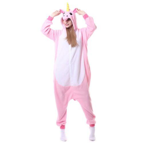 Adult Unicorn Unisex Kigurumi Animal Cosplay Costume Onesii Pajamas Sleepwear