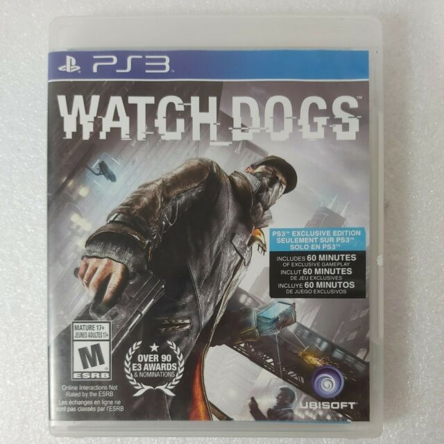 Watch Dogs- Exclusive Edition  PlayStation 3, 2014