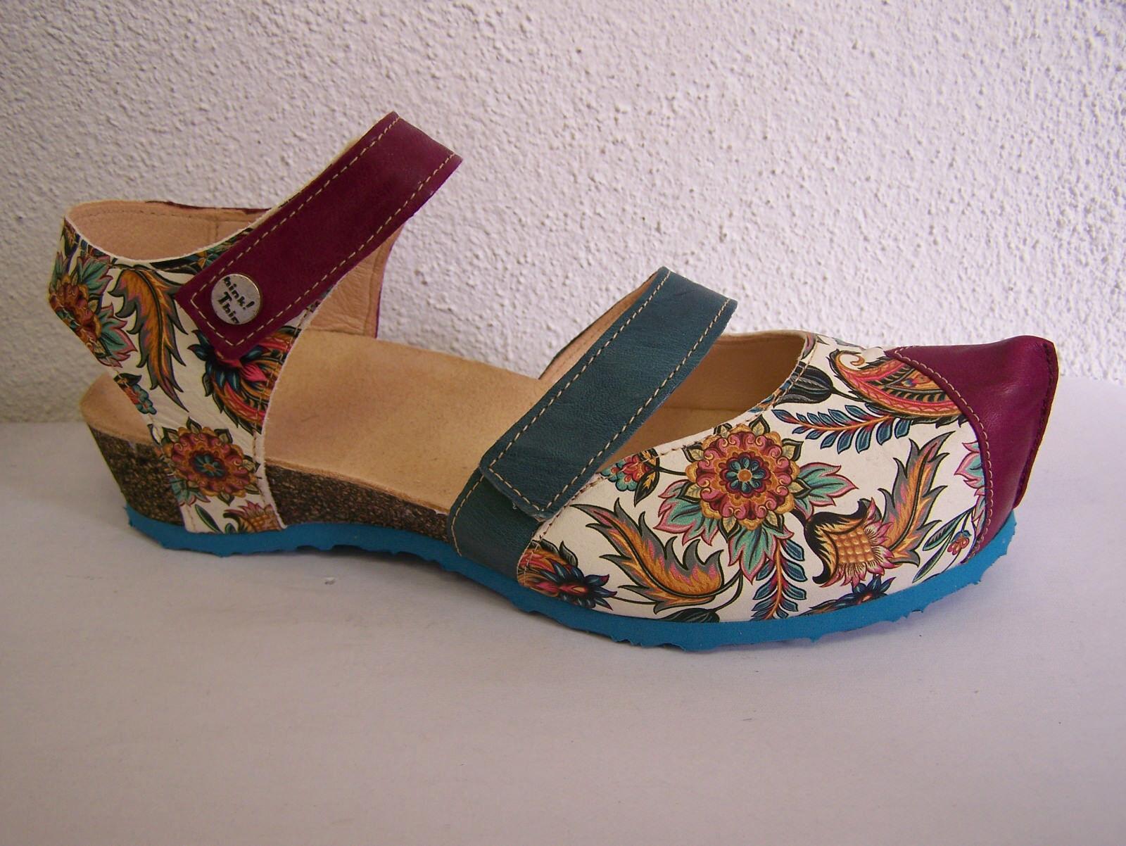 Think Kessy, & sandali cade maggiore da! LAGUNA Flowerprint combinata & Kessy, sacchetto in tessuto f83198