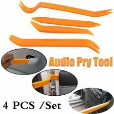 Car Trim Removal Tool Pry Panel Dash Radio Door Body Clip Installer Kit 4Pcs