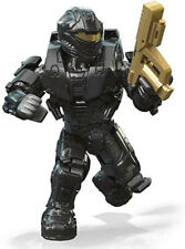 Mega Construx  Halo Gold Series 10 BLACK SPARTAN RECON NEW In Sealed Bag