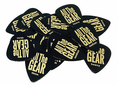 12 x MEDIUM Plectrum AllTheGEAR branded Guitar pick CELLULOID