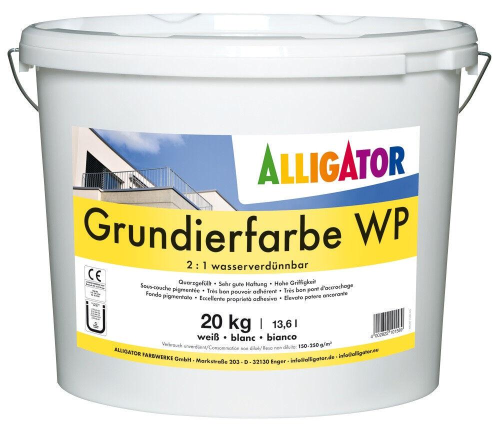 25x Alligator Grundierfarbe WP 20 kg - 2 : 1  wasserverdünnbar-