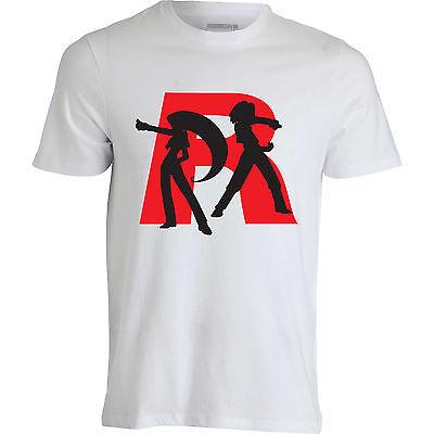 Pokemon team rocket Jessie James R logo stylish funny men clothing top t shirt