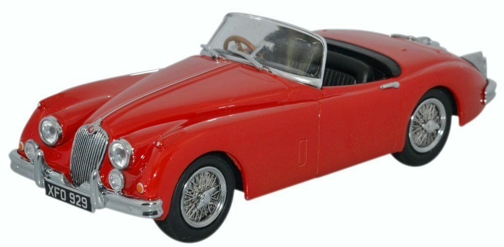 Oxford Diecast 1 43 Jaguar XK150 Roadster Carmen Rot Rot Rot - 43XK150008 80e6da