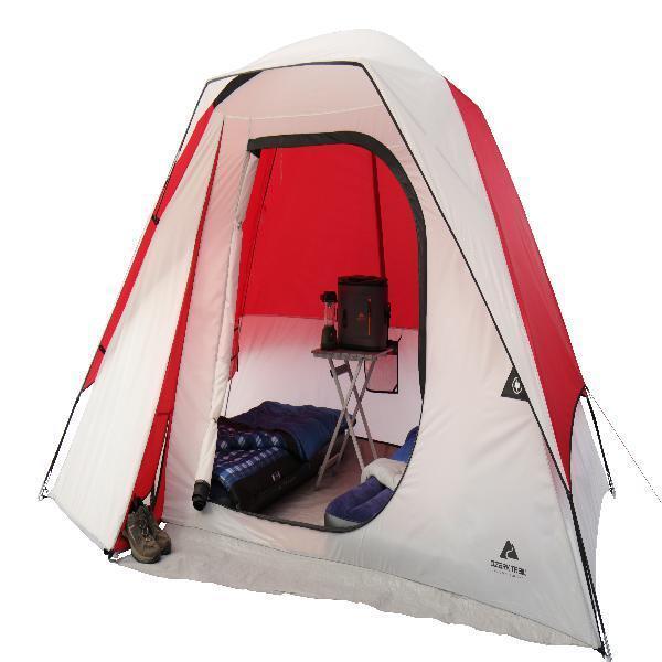 Domo Tienda de campaña 6 personas Ideal Para Camping Patio Poliéster Marco De Fibra De Vidrio