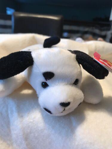 9 inch 1996 Ty Original Beanie Babies DOTTY The Dalmatian Puppy Dog w//Tags