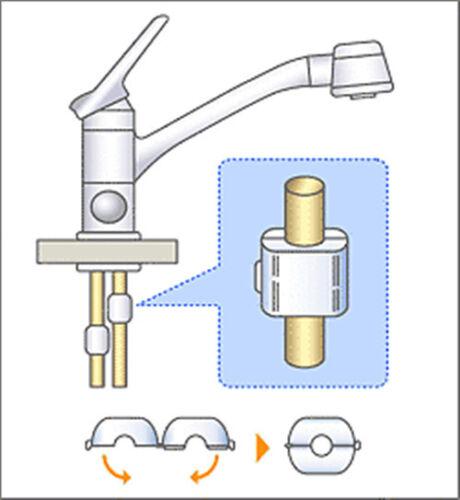 MAGNETIC Descaler calcare REMOVER ACQUA CONDIZIONATORE SOFTENER x 4 paia SP-W