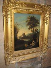 Stunning Italian Capriccio oil on panel; Circle of Richard Wilson 1714-82.