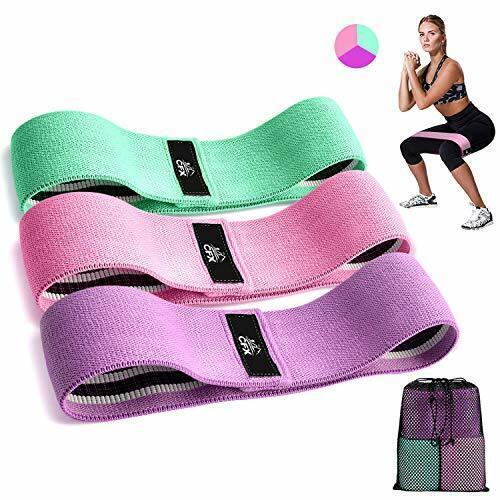 Premium exercice Boucles With Non-Slip Design pour CFX Bandes de résistance 3 ensembles