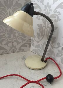 Vintage-French-Metal-Desk-Lamp-Light-60s-70s-Retro-Mid-century-Industrial