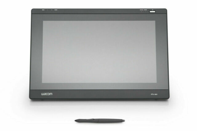 Wacom Dtu-1631 Interactive LCD Pen Display Graphic Design Tablet