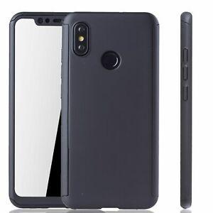 Xiaomi-Mi-8-Cellphone-Case-Protective-Full-Cover-Armor-Glass-Black