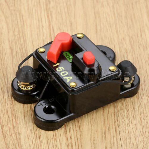 Kill Switch Auto Car Audio Inline Boat Vehicle Fuse Circuit Breaker Manual Reset