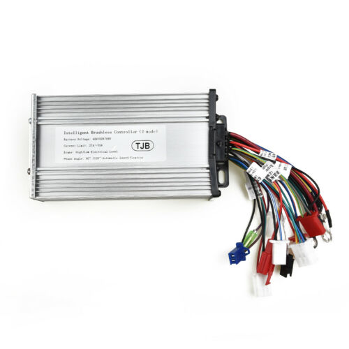 60V Electric Controller 1800W Dual-Mode BLDCM Brushless Cycling E-bike Parts