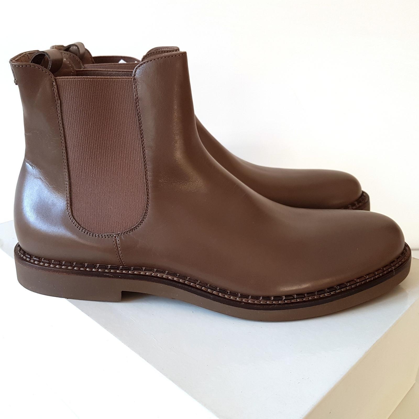 CALVIN KLEIN Collection BEATLES Zapatos tg EU 45 stivaletti Zapatos BEATLES hombre pelle SCONTO 75% c395ee
