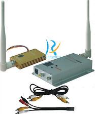 1.2GHz 1500MW Long Distance Camera Wireless AV Transmitter Receiver FPV + power
