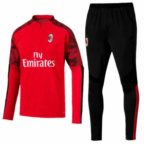 19-20 Adult Mens Football Club Survetement Training Suit Sports Tops /& Bottoms