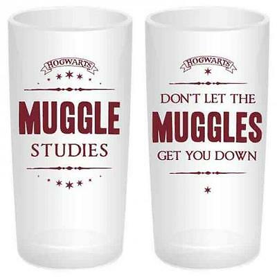 Harry Potter - Muggles Glass Tumbler Set - New & Official In Box