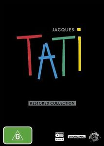 Jacques-Tati-Restored-Collection-DVD-2014-8-Disc-Set-BRAND-NEW-SEALED