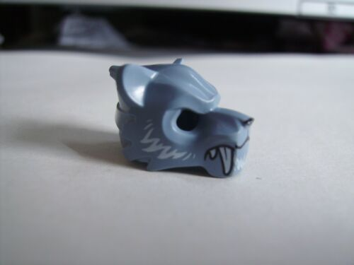 bleu fourrure LEGO Mini figure 15083pb05 tiger mask blanc crocs