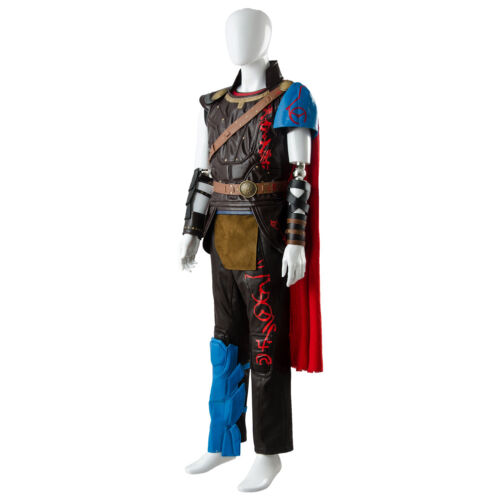 The Avengers Thor 3 Ragnarok Arena Gladiator Suit Battle Cosplay Outfit Costume
