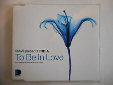 MAW presents INDIA : TO BE IN LOVE [ CD ALBUM ] - PORT GRATUIT