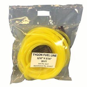 Neuf-Tygon-Jaune-Carburant-Ligne-Tuyau-3-32-034-Pre-decoupe-20-FT-Kawasaki-Suzuki
