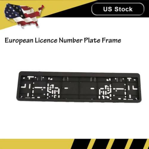 European Plastic Car License Number Licence Plate Holders Surrounds Frames GE UK