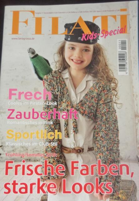 frech Lana Grossa Ausgabe 11 zauberhaft Filati KIDS-Special sportlich #1506