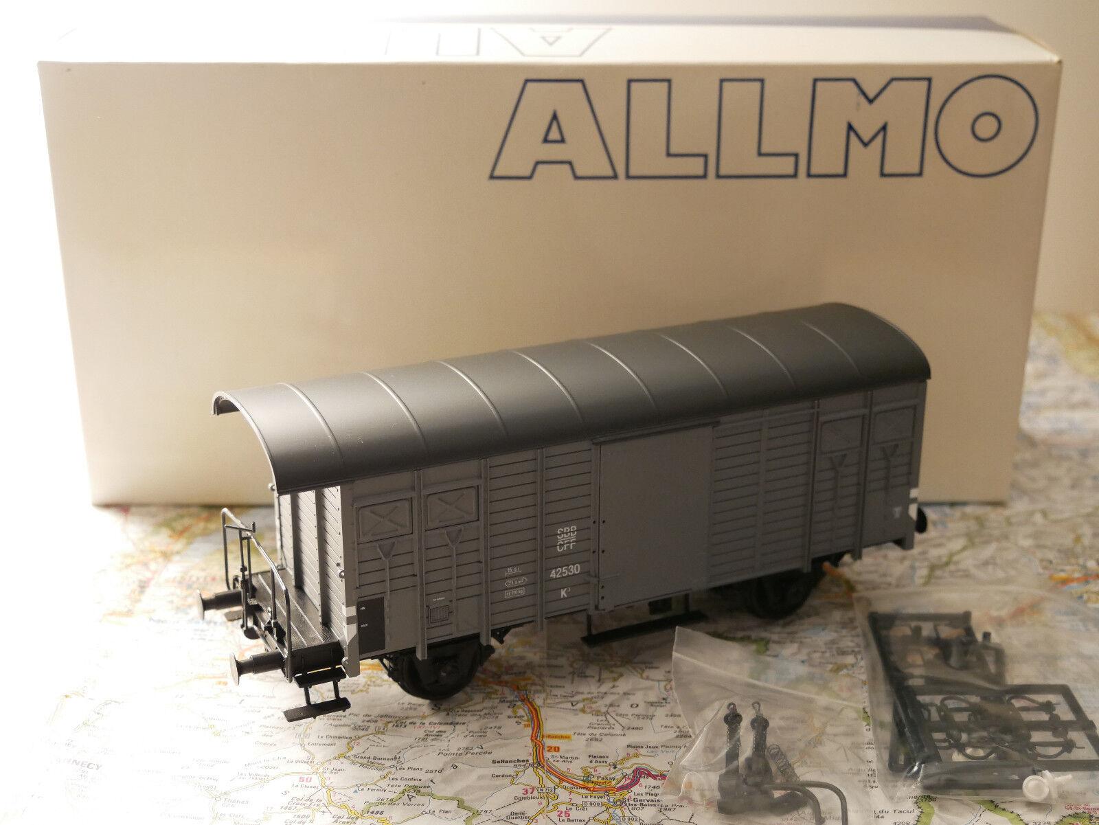 Alimo sbb K - 3 gris gris gris Spur 0 art.310004 - 017 sbb   cff 46351 K '1  45 nuevos a1b