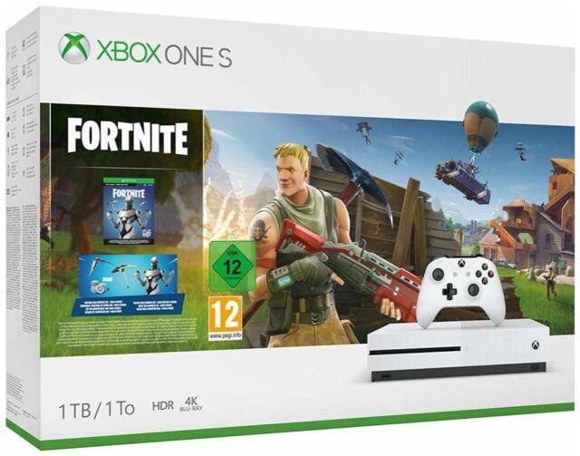 Microsoft XBox One S 1 TB + Fortnite (Xbox One Konsole)
