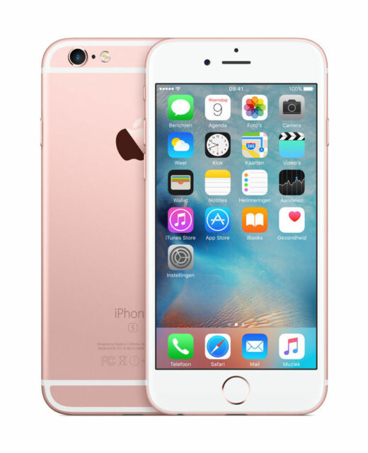 Apple Iphone 6s 32gb Unlocked Smartphone Rose Gold A1633 For Sale Online Ebay