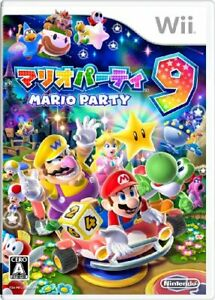 USED-Mario-Party-9-Wii-Japan-Import