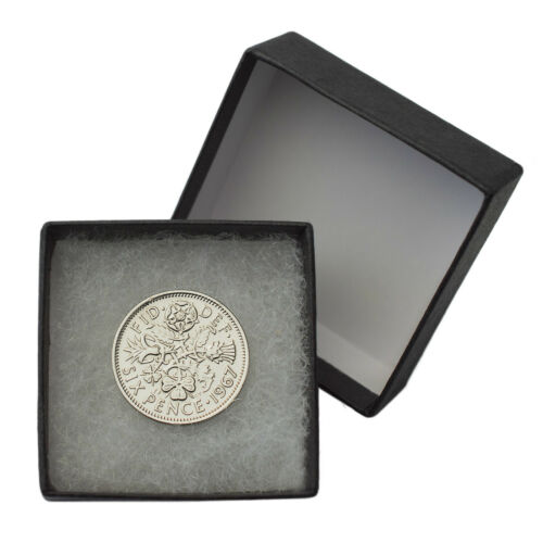 WEDDING!! POLISHED SILVER SIXPENCE CHOICE OF DATE 1947-1967 BIRTHDAY