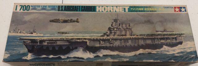 Tamiya 77510 1//700 Scale Model Kit U.S Navy USS Aircraft Carrier Hornet CV-8