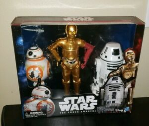 Exclusive Star Wars The Force Awakens 12-Inch Droid Action Figures 3-Pack