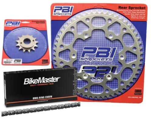 PBI OR 13-50 Chain//Sprocket Kit for Yamaha WR250R4-stroke