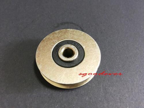 New 0638UU U Groove Bearing 6*38*9.7mm Guide Pulley Bearings 6pcs