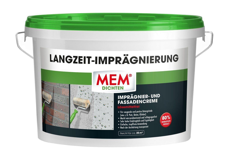 MEM Langzeit Imprägnierung 2,5 Liter    Fassadencreme     Imprägniercreme