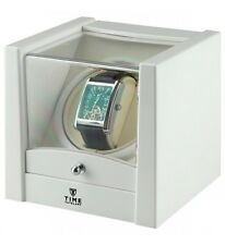 Carica Orologi Automatici Singolo Time Tutelary Watch Winder WHITE One Stand